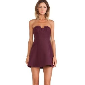keepsake hearts on fire mini dress size S